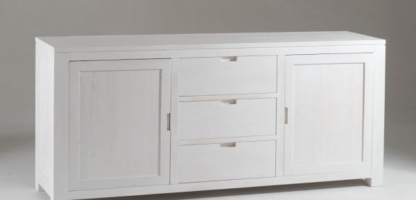 Mobili di legno castagnetti c mobili decorati - Mobili bianchi shabby ...